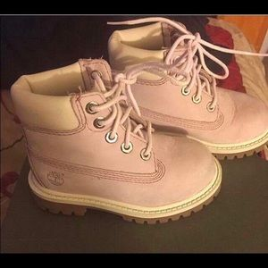 COPY - Toddler Size 6 Lavender Timberland Boots